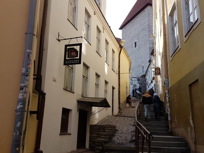 Улица Люхике-Ялг. Фото Виталия Фактулина.